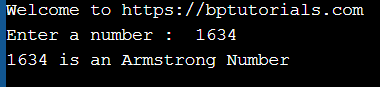 c program to check Armstrong number of n digits