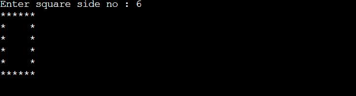 pattern in c